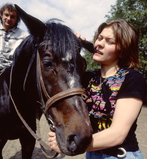 Актриса Мария Голубкина фанатично увлекается выездкой. «Это моя вторая профессия», - считает она.