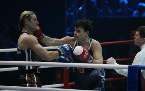 Евгений Дятлов (справа) и Эдгард Запашный встретились в финале шоу «Король ринга».