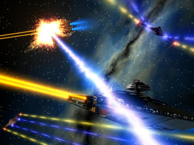 Уфологи предполагают: где-то в окрестностях нашей планеты шел космический бой. Землю чуть-чуть зацепило