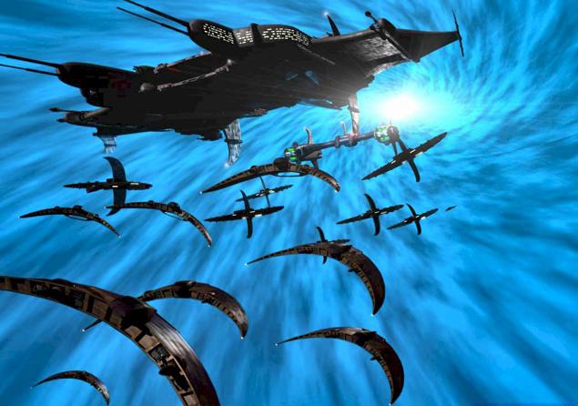 Излучение могло сопровождать маневры инопланетных кораблей