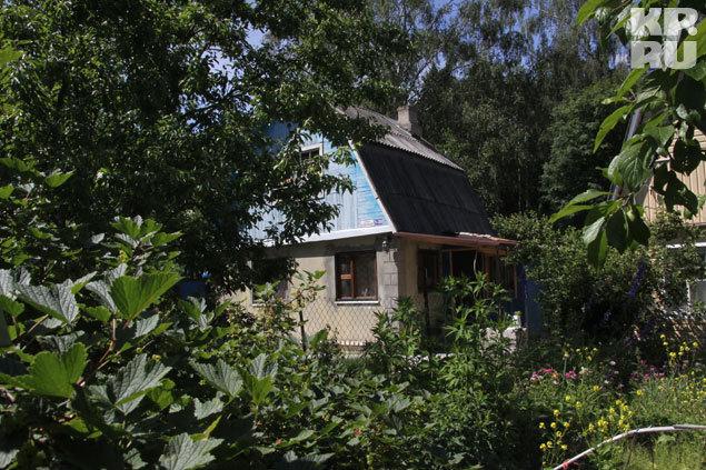 Дом семьи Праховых на замке