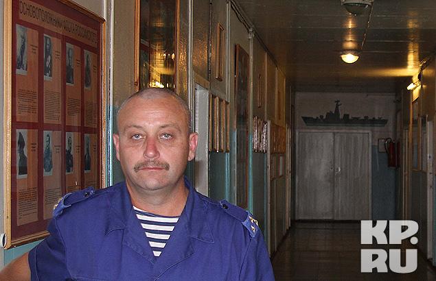 Начальник 720 ПМТО Дмитрий Жаворонков.