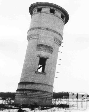 Липецкая «Пизанская башня».