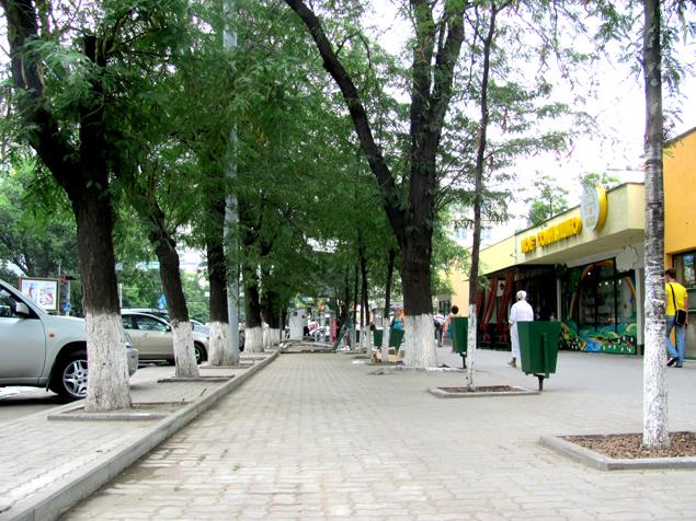 На рынке ЦГБ в Ростове сносят