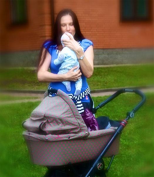 Эвелина Бледанс родила сына с синдромом Дауна