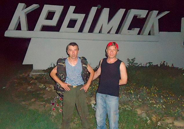 Захар Потемкин (слева) и Виктор Корчминский.