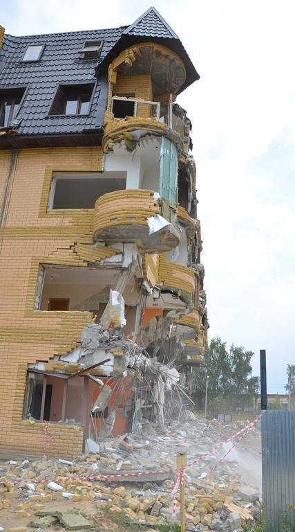 Здание выросло до 5 этажей