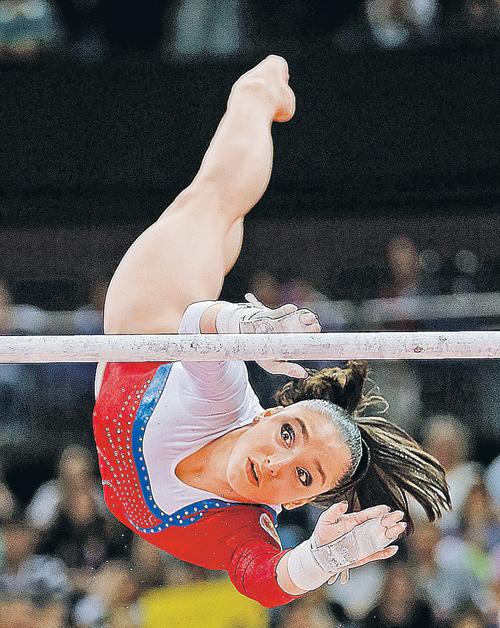 Алия Мустафина своим блестящим выступлением на брусьях вернула нашу страну в золотой век гимнастики.