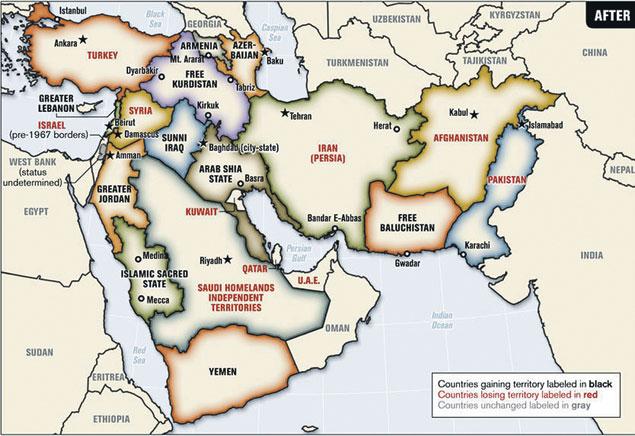 ...а такими они должны стать по плану «Большой Ближний Восток».