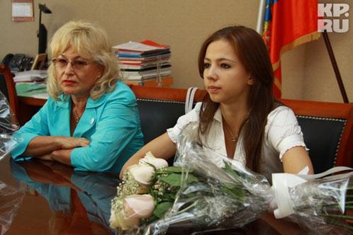 Ольга Буянова и Дарья Дмитриева.