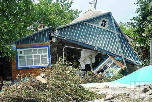 От наводнения в Крымске