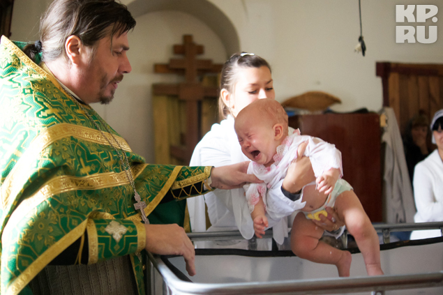 Теперь маленькую Еву будет защищать не только папа, но и ангел-хранитель.