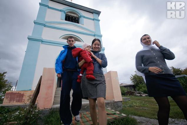Теперь церковь Иона Предтечи будет семейной для Мехонцевых.