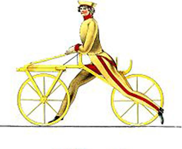 Велосипед фон Дреза