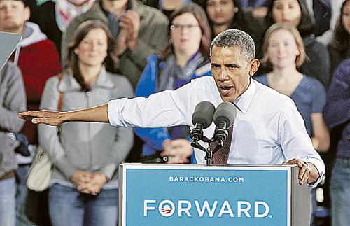 Обаму на выборах бьют исламской картойОбаму на выборах бьют исламской картой
