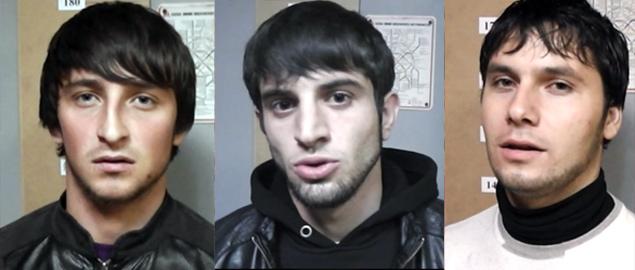 Ризван Исаев, Ахмед Мусаев и Магомет Саидов.