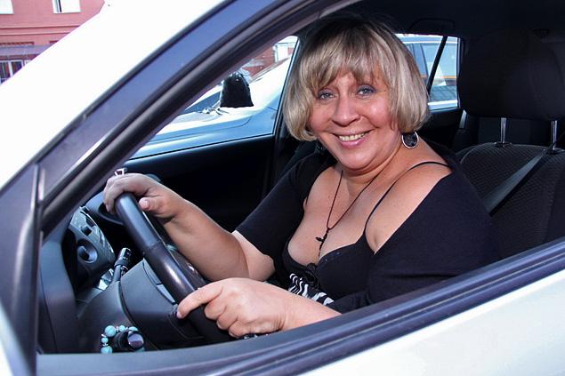 Голуб была не за рулем, потому что 18 сентября на своей Toyota RAV 4 столкнулась с автомобилем Citroen на Тверском бульваре.