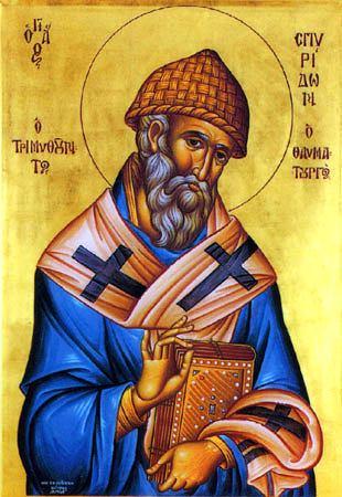 Святитель Спиридон Тримифунтский (Саламинский)