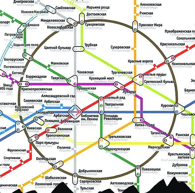 К новой карте метрополитена у