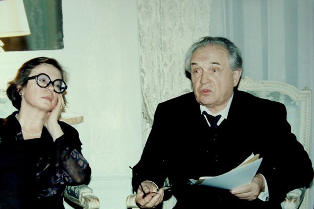 Александр и Ольга Зиновьевы.