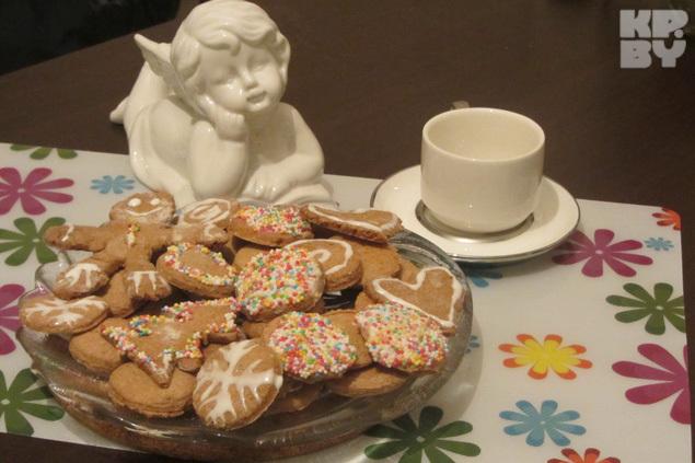 Имбирное печенье отлично соетается с любым напитком.