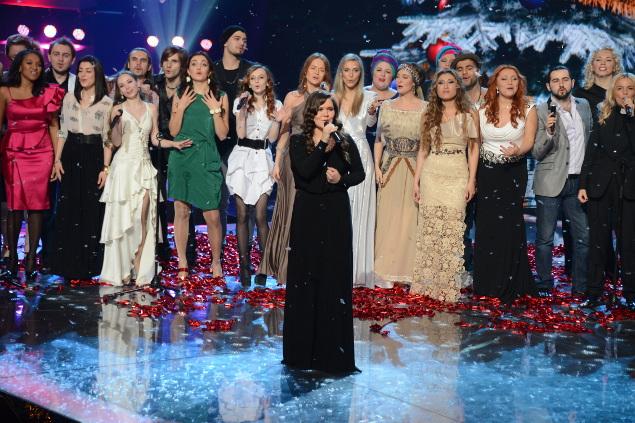 """В финале Дина спела вместе со всеми участниками первого сезона """"Голоса"""""""