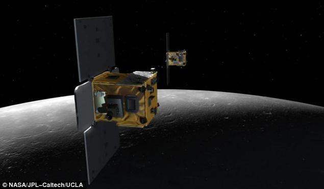 Зонды-близнецы изучали аномалии гравитационного поля Луны