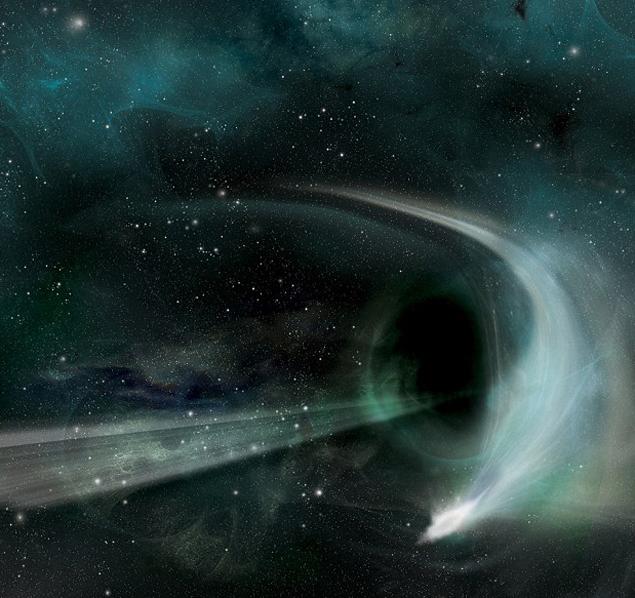 Черная дыра - не воронка
