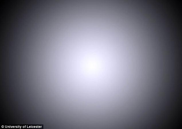 Вместо звезд появится яркий диск