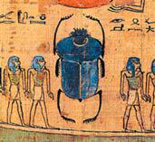 Древние египтяне почитали скарабеев наравне с богами