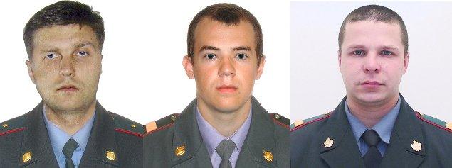 Погибшие в теракте полицейские