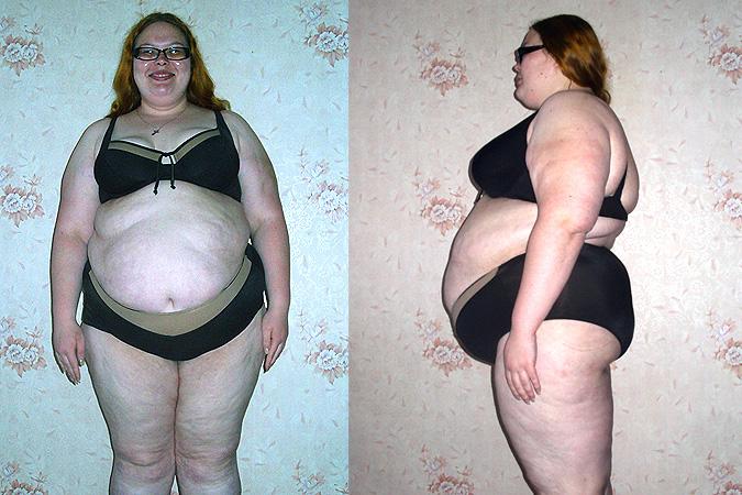 похудела на 40 кг за 4 месяца
