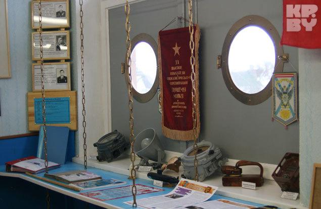Многие экспонаты Владимир Касперович собирал по знакомым морякам.