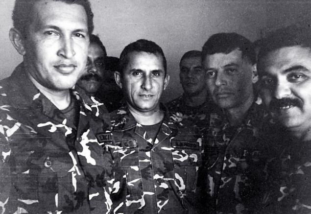 Уго Чавес в тюрьме, когда был арестован за попытку переворота (1992 год)
