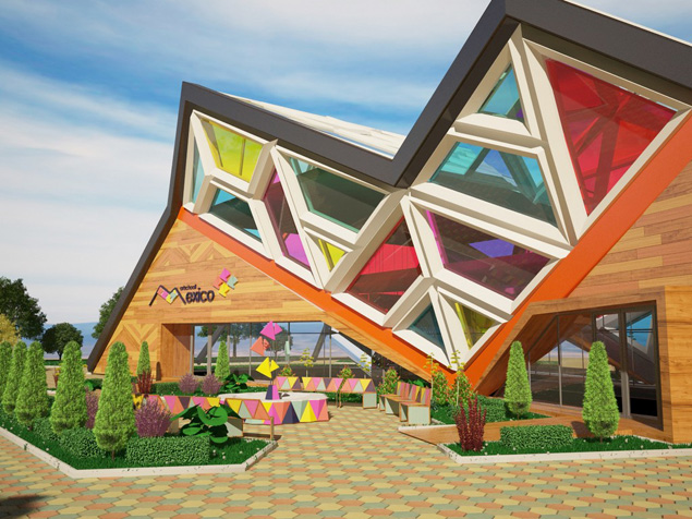 Школа искусств от дизайнера Ирины Гороховой. Стеклянная крыша необычной формы за счет преломления света создает в аудиториях атмосферу творчества и праздника