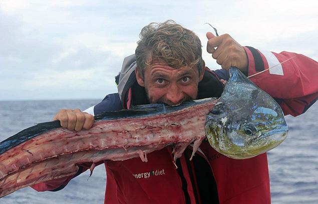 Путешественники прошли 32 тысячи километров, повидав на своем пути немало причудливой рыбы.