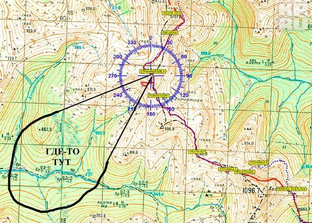 Это карта маршрута, которым