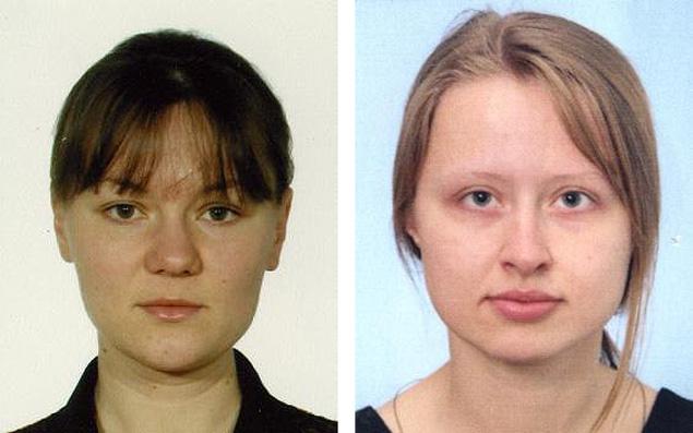 Погибшие Анна Павленко (слева) и Алина Черенко (справа)
