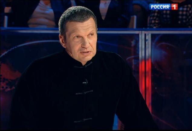 Владимир Соловьев попытался примирить спорящих.