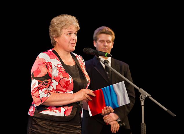 Поздравления от федерального инспектора Ольги Окуневой.
