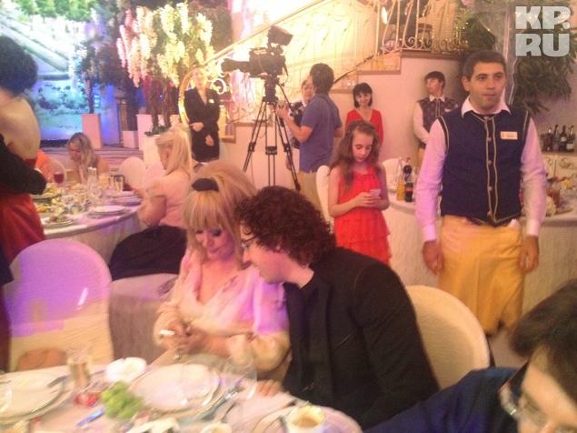 Алла Пугачева и Максим Галкин