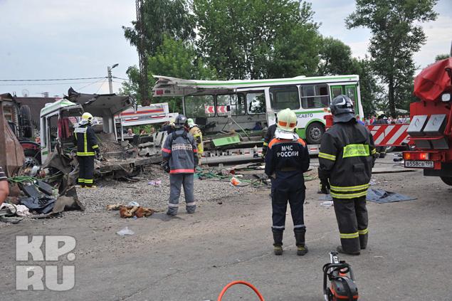 В аварии погибли 18 человек,