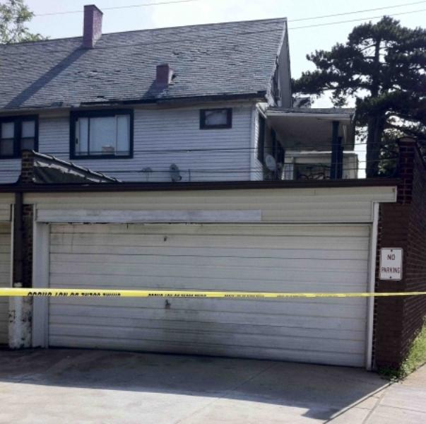 Тело третьей жертвы нашли в этом гараже
