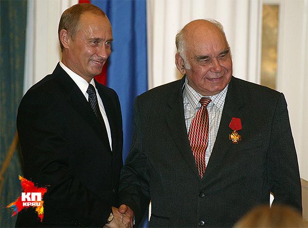 Василий Песков и Владимир Путин
