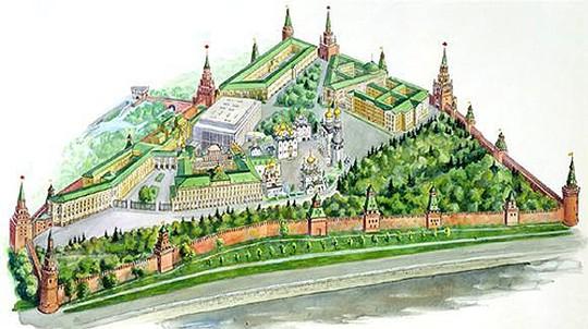 Стены и башни по форме