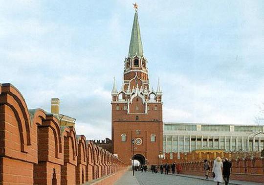 Троицкая - самая высокая башня