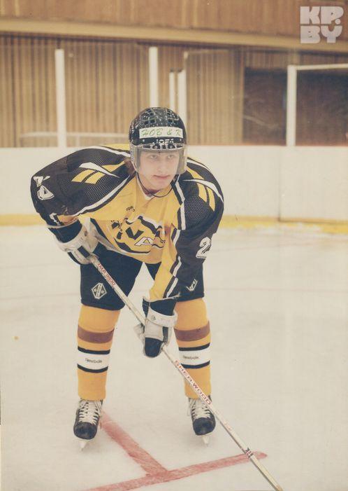 Руслан сам выбрал хоккей и не пропускал ни одной тренировки.