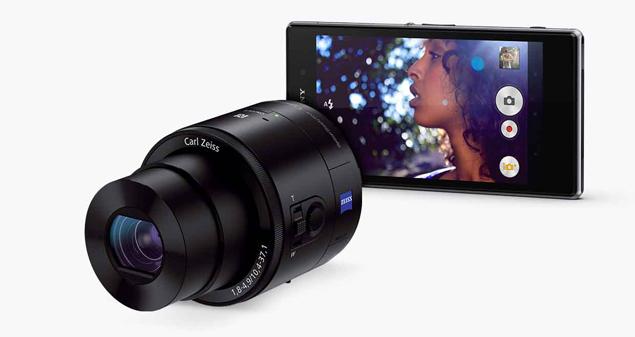 Объектив-камера QX100 создана специально для работы со смартфонами Z Family