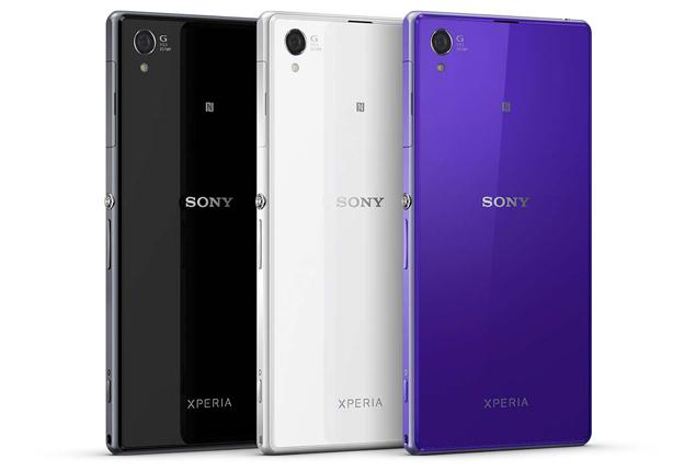 Sony Xperia Z доступна в трех цветах: Белом, Черном и Сиреневом