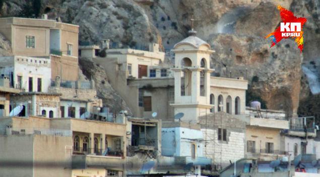 Христианские храмы в Маалюле.